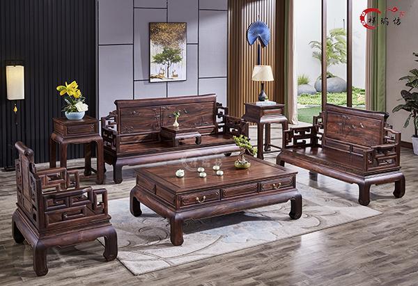 祥瑞坊黑酸枝家具:东方美韵,永不落伍的魅力